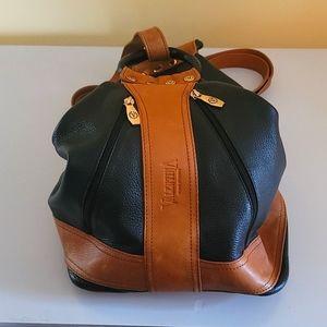 Valentina Italian Leather Convertible Sling
